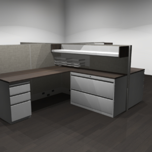 Project #5 - Four Pod Workstations with Storage