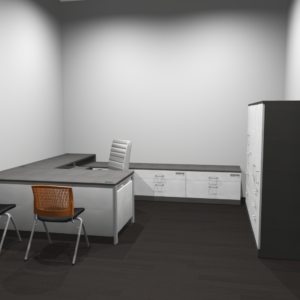 Project #7 - Manager's Office with Storage and Guest Seating